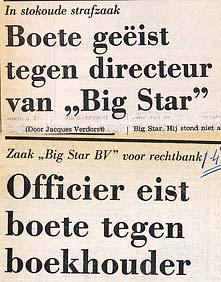artikel big star bv